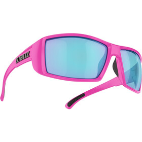 Bliz Drift Brille, matte pink/smoke/blue multi